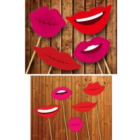 Pout Lips Stick Props (12 Pcs)