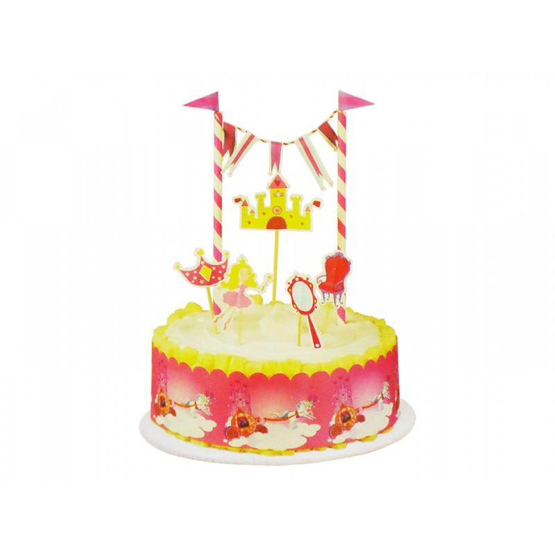Princess Cake Decor Kit