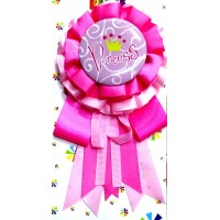 Princess Printed Ribbon Badge