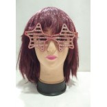 Red Star Shape Shutter Eye Glass