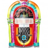 Rock & Roll Theme Super Shape Foil Balloon