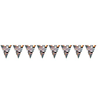 Rock n Roll Theme Bunting