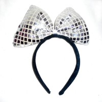 Silver Sequin Hairband