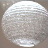 Silver Shimmer Style Paper Lantern