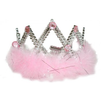 Princess Crown With Fur
